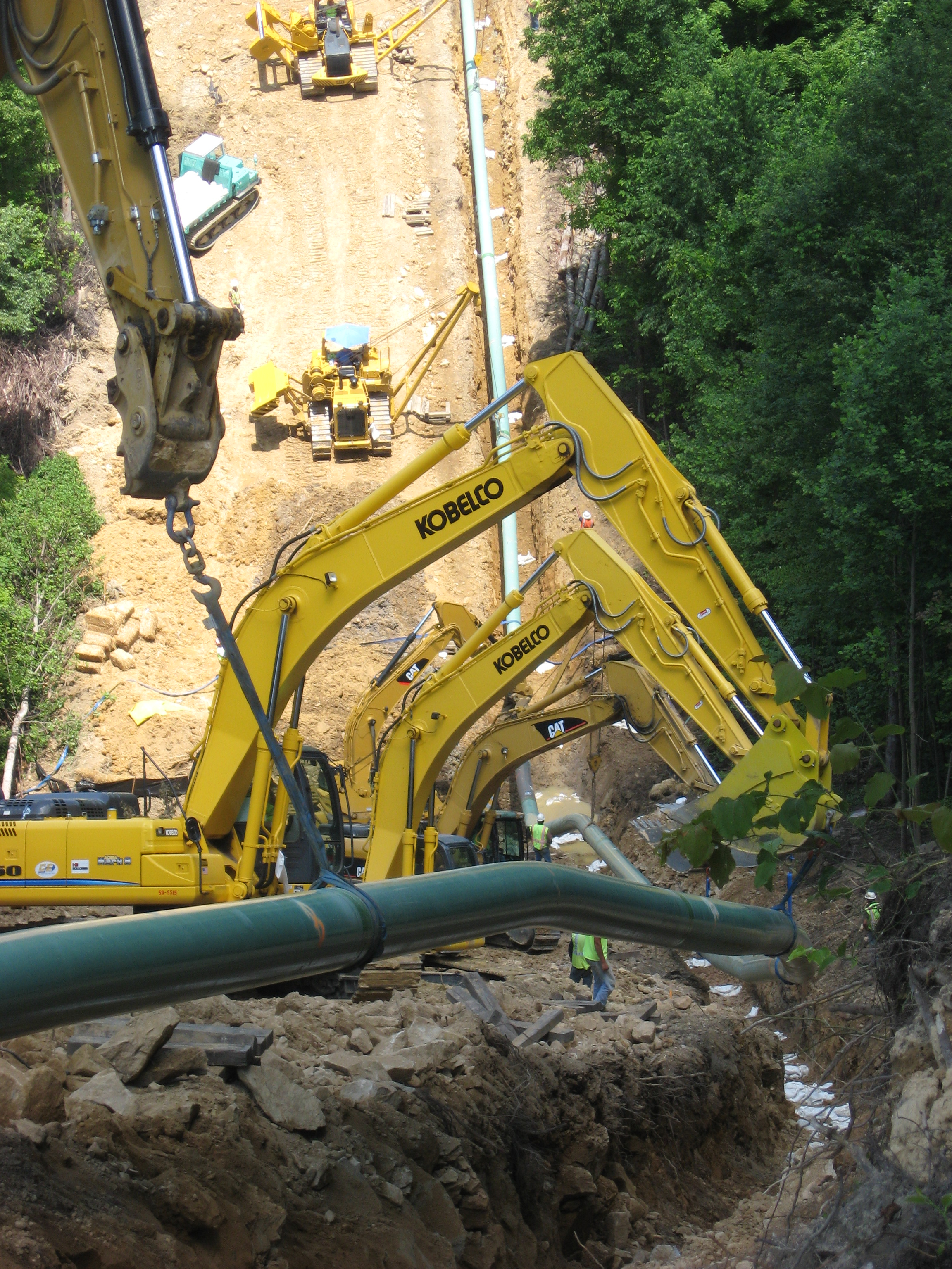 Pipeline Construction Projects Holloman Corporation