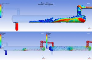 Multi-Vessel Slug Catcher CFD Validation