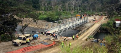Installation of Bridge