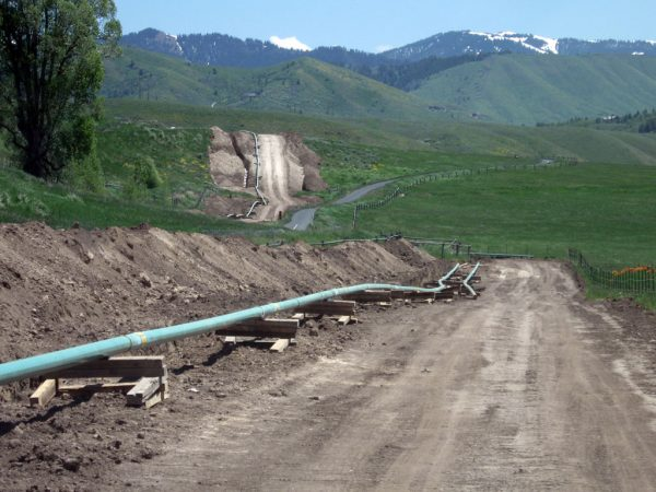 53 Miles of Pipeline Jackson WY