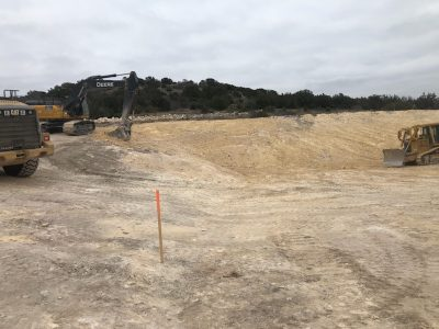 Site Development and Pad Construction for a Pump Station (Del Rio Texas)