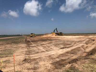 Site Development for a Pump Station (West Texas)